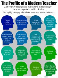 The-Profile-of-a-Modern-Teacher